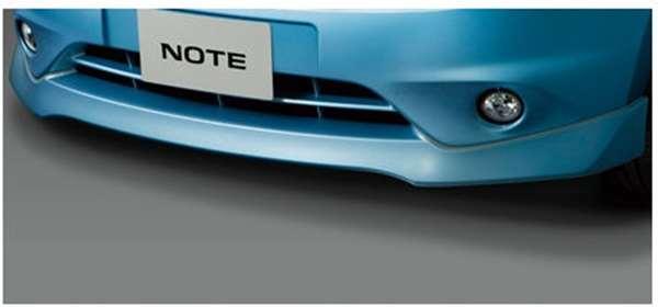 フロントプロテクター(色番号k23/kad/kh3/kah/nar/raw) ノート E12 日産純正 フロントスポイラー エアロパーツ カスタム NOTE パーツ 部品 オプション