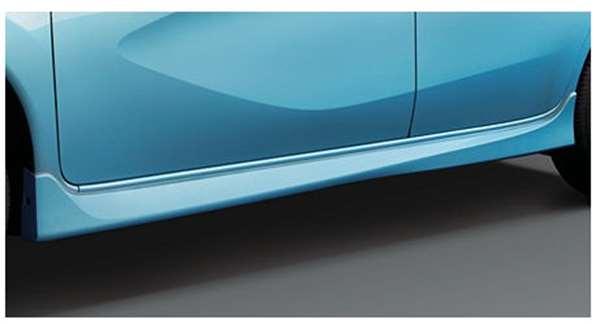 サイドシルプロテクター(色番号k23/kad/kh3/kah/nar/raw) ノート E12 日産純正 サイドスポイラー エアロパーツ カスタム NOTE パーツ 部品 オプション
