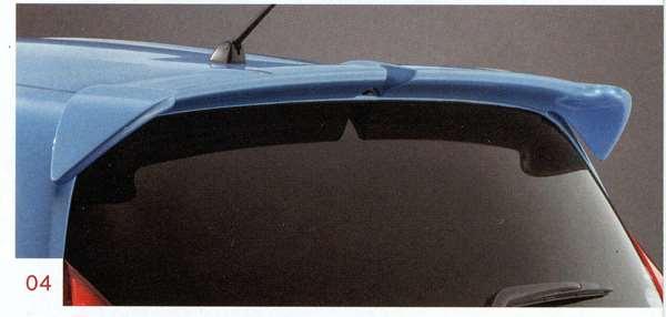 ルーフスポイラー K23、KAD、KH3、NAH、NAR、RAW ノート E12 日産純正 NOTE パーツ 部品 オプション