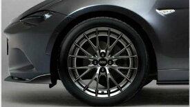 『ロードスターRF』 純正 NDERC ND5RC BBS社製鍛造 アルミホイール(17×7.0J)ブラックメタリック塗装 1本から 本体のみ ※付属品は別売 パーツ マツダ純正部品 安心の純正品 オプション アクセサリー 用品