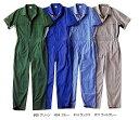 作業服 つなぎ メンズ 半袖 夏物 ツナギ 大きいサイズ|ウェア おしゃれ 作業つなぎ ワークウェア 半袖つなぎ オールイ…