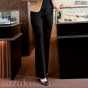 エステ コンシェルジュ レディース パンツ WP877 pants ブーツカット ズボン スラックス スーツ 5〜19号 裾未加工 | サロン エステサロン 制...