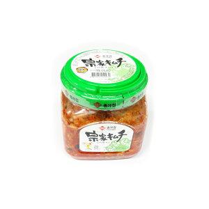 チョンカ宗家キムチ 白菜キムチ 乳酸菌でおいしく元気 (1.1キロ×4個)大象ジャパン株式会社 1箱 送料無料