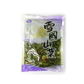 【送料無料】雪国山菜 《固形量800g、内容総量1キロ×15袋》 株式会社松美産業1ケース
