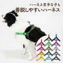 犬 ハーネス 胴輪 小型犬 中型犬 大型犬 負担の少ない 着脱しやすい 速乾素材で雨の日も安心 アウトドア 日本製 おし…