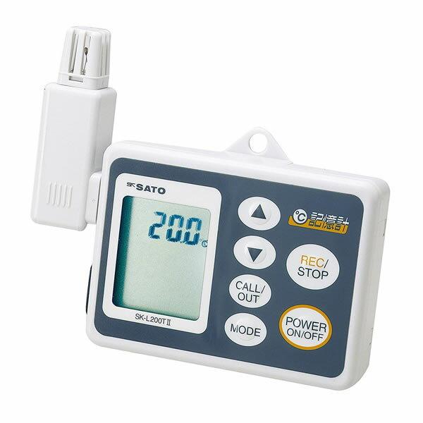 記憶計 SK-L200T-1 データロガー 温度センサ一 測定範囲−10.0〜60.0℃ USB接続 最大8100データ