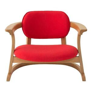 SEEDS かに座PLUS チェア ロータイプ(椅子)赤