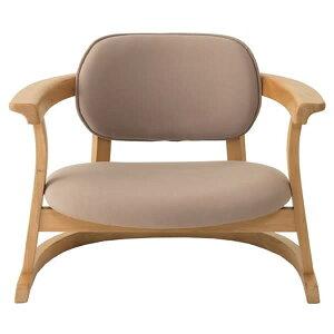 SEEDS かに座PLUS チェア ロータイプ(椅子)ベージュ