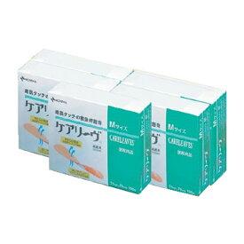 滅菌済救急絆創膏 ケアリーヴ Mサイズ 100枚入x5箱 まとめ買いセット 一般医療機器