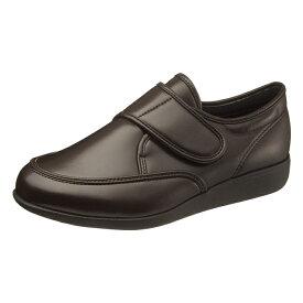 アサヒシューズ 快歩主義 M021 ブラウンスムース 男性靴 健康シューズ