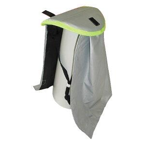 携帯用 防災頭巾 石頭くん 消防士型 防炎素材使用 軽量防災ずきん
