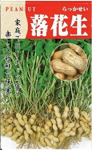 野菜種子 『 タキイ種苗 』 落花生 50ml袋詰 【 送料無料 】