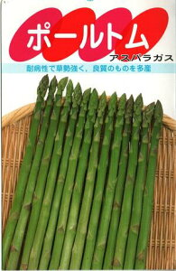 野菜種子 アスパラガス (サカタのタネ) ポールトム 20ml詰【送料無料】