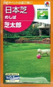 日本芝種子 『タキイ種苗』 のしば 芝太郎 15ml袋詰(約0.5分) 【送料無料】
