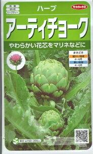 ハーブ種子 『 サカタのタネ 』 アーティチョーク 1,3ml袋詰(約10本分) 【送料無料】