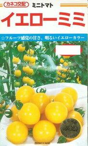 野菜種子 『ミニトマトタネ』 カネコ交配 (カネコ種苗) イエローミミ 17粒袋詰 【送料無料】