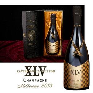 XLV シャンパン ブジー グランクリュ ミレジメ2013 ブリュット ザビエ ルイ ヴィトン XAVIER LOUIS VUITTON 発泡酒 ギフト プレゼント スパークリングワイン お酒 ギフトボックス バースデー 景品 家