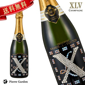 XLV シャンパン シャンパーニュ 限定デコシャンボトル ブランドブラン プルミエ クリュ ザビエ ルイ ヴィトン XAVIER LOUIS VUITTON ギフト プレゼント スパークリングワイン お酒 ギフトボックス