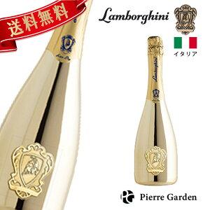 ランボルギーニ エクストラドライ ゴールド スパークリングワイン 750ml Lamborghini Extra Dry ゴールド ProseccoD.O.C プレゼント お祝い 結婚祝い バースデー 周年記念 かわいい ギフト 高級シャンパ