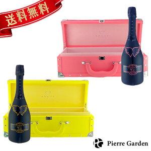 光る エンジェル シャンパン 2色セット ブリュット ヘイロー イエロー ピンク 750ml ANGEL NV HALO 箱付き ギフト プレゼント かわいい かっこいい 映え 高級シャンパン お酒 お祝い 行楽 お歳暮 ク