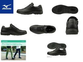 【MIZUNO = ミズノ】ウォーキング 散歩 通勤 通学 遠足 ハイキング 散策ウォーキングシューズ 靴【LD40Vα SW(ウォーキング)[メンズ][4E]】[Field Walk:長距離ウォーキング](24.0〜28.0cm)[ブラック]