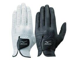【Mizuno~ミズノ】紳士ゴルフウェアアクセサリー<プロモデルグローブ>手袋手袋(片手/左手着用)[01:ホワイト](サイズ:26cmのみ)