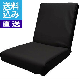 【新春セール】【直送/送料無料】低反発レザー座椅子(ブラック)〈DS3L BK〉 内祝い お返し プレゼント 自家消費【直送】 成人の日 お返し 内祝い ランキング(bo)