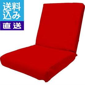 【新春セール】【直送/送料無料】低反発レザー座椅子(レッド)〈DS3L RD〉 内祝い お返し プレゼント 自家消費【直送】 成人の日 お返し 内祝い ランキング(bo)