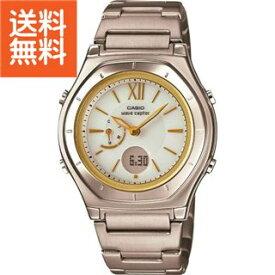 392256b08a 【送料無料】|カシオ ウェーブセプター ソーラー電波レディース腕時計|〈LWA‐