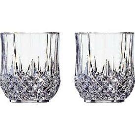  クリスタル・ダルク ロンシャン ペアオールドグラス 〈L7555A〉【60s】(ae) 内祝い お返し プレゼント 自家消費