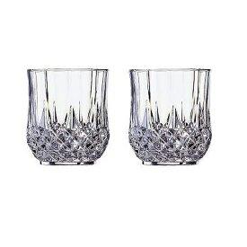  クリスタルダルク ロンシャン ペア オールドグラス 〈L9758A〉【60s】(ae) 内祝い お返し プレゼント 自家消費