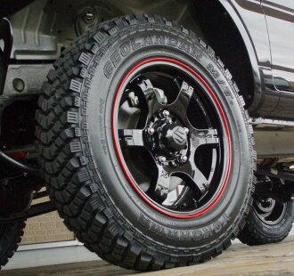 铃木 jimny JB23,JA11、 JA22、 JA12、 JA71 其他 (特种合金车轮及轮胎套 4)