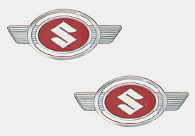 スズキハスラー用二輪ハスラーの復刻版エンブレム 2枚販売【RCP】99000-990EJ-EB1定価\6,000(税別)