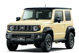 新型スズキジムニーJB74W 1500CCJC 5MT 5速マニュアルシフォンアイボリーメタリック/ブラック2トーンルーフ8インチナビゲーション+ETC装着諸費用込の乗り出し価格