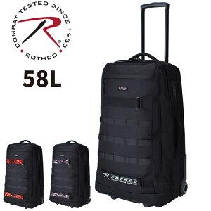 ソフトキャリーケース 軽量 かわいい おしゃれ ブランド レディース メンズ ビジネス 45032 rothco ロスコ 3〜4泊 58L 出張 旅行 ソフト スーツケース おすすめ 丈夫 かわいい ソフト キャリーケー