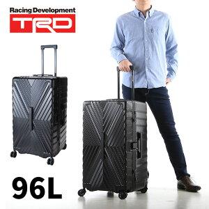 [Point10倍]ll サイズ キャリーケース 送料無料 おしゃれ ブランド 8439 メンズ TRD ティーアールディ ポリカーボネートプラス 5〜6泊 96L 出張 旅行【送料無料】スーツケース 軽量 おすすめ スーツ