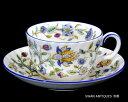 英国製イギリス ミントン Minton ハドンホール ブルー カップ&ソーサー 廃盤品