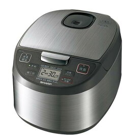 SHARP ジャー炊飯器KS-S10J-S (シルバー系)