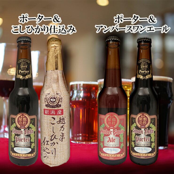 スワンレイク金賞おためし2本セット【クラフトビール】【地ビール】