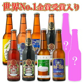 ビール クラフトビール 世界一受賞ビール飲み比べ  限定ビール入り 10本詰め合わせ春のサンキューセット 世界一のビールを含むセット B-IPAスワンレイクビール 地ビール 本州 送料無料