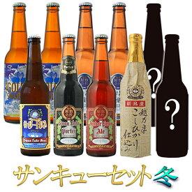 2020 冬ギフト ビール クラフトビール 福袋 10本詰め合わせ冬サンキューセット BIPA 飲み比べ 世界一のビールを含む お試しセットスワンレイクビール 地ビール本州 送料無料 お土産 お祝い 贈り物