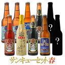 春ギフト ビール クラフトビール 10本詰め合わせ春サンキューセット BIPA 飲み比べ 世界一のビールを含む お試しセッ…