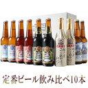 あす楽 お年始 ギフトビール クラフトビールスワンレイクビール 定番10本 金賞受賞 世界一のビール飲み比べの10本セット 熨斗無料 地ビール ビール