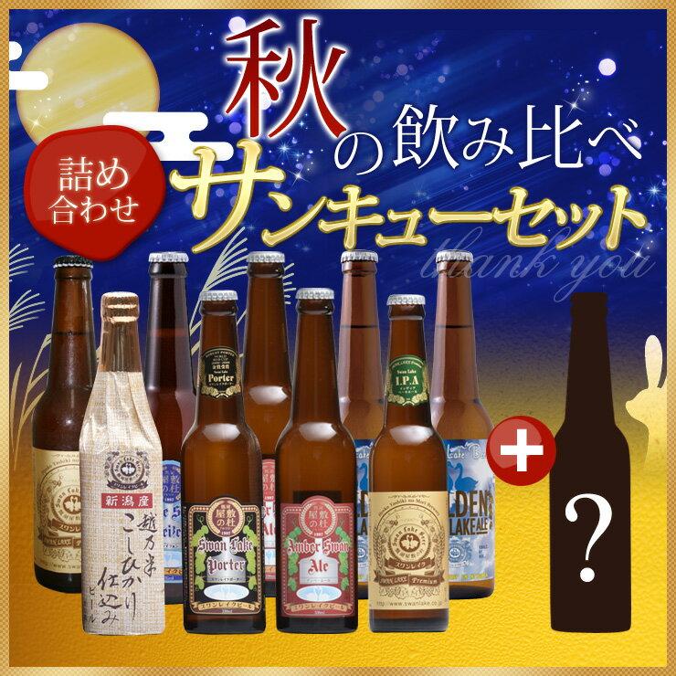【福袋】 【送料無料】世界一のビールを含むスワンレイクビールを飲み比べ10本詰め合せパーティセット!人気限定ビール2本入る 【地ビール】 【クラフトビール】
