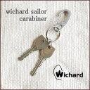 【メール便送料無料】【Wichard/ウィチャード】wichard sailor carabiner S/ウィチャード セイラー カラビナ Sサイズ 【キーリン...