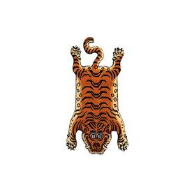 ディテール DETAIL チベタンタイガーラグ DTTR-01 青 スモール Tibetan Tiger Rug Small カーペット 玄関 マット 絨毯 ラグ