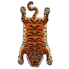 ディテール DETAIL チベタンタイガーラグ DTTR-01 青 Xラージ Tibetan Tiger Rug X-Large カーペット 玄関 マット 絨毯 ラグ