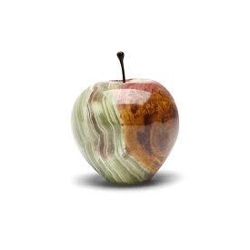 マーブル アップル ラージ Marble Apple Large グリーン Green インテリア 大理石 ペーパーウェイト 飾り プレゼント ギフト 大人 マーブルアップル りんご 林檎