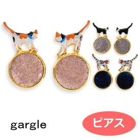 gargle ガーグル 家猫 ピアス p201se-330g  1911 2001 swaps