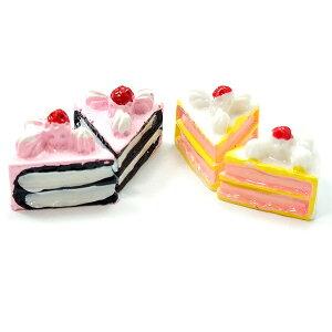 2種類から選べるショートケーキ 5個セット★スイーツデコパーツ